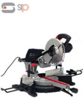 10  Compound Sliding Mitre Saw with Laser ( 230v)