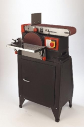 6 x 10 Belt Disc Sander with Stand