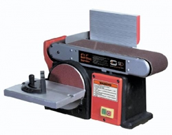 4 x 6 Belt Disc Sander 1/3hp incl. Free Rip Fence (230v)