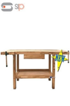 Oak Wooden Work Bench