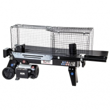01976 SIP 56 Ton Horizontal Log Splitter with Cage