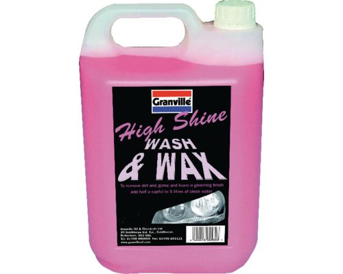 Granville Wax and Wash Auto Shampoo
