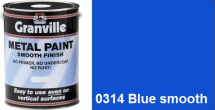 Granville Blue Smooth paint - 500ml