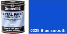 Granville Blue Smooth paint - 1 Litre