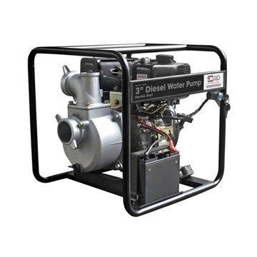 3inch Diesel Powered Water Pump With Electric Start