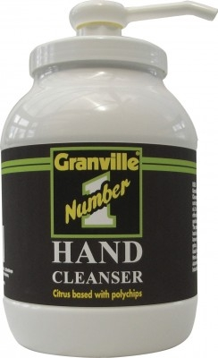 Granville No 1 Hand Cleanser Complete with Pump 3L