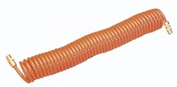 SIP 07571 Coiled Air Hose (25ft with swivel fittings)