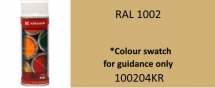 100204KR Sand Yellow paint RAL1002 400ml