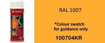 RAL1007 Daffodil Yellow paint 400ML