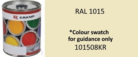 101508KR RAL 1015 Light Ivory paint 1 Litre