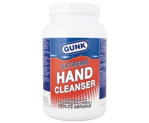 1359 Gunk Hand Cleaner 5l with Pump polybead free Citrus hand cleaner