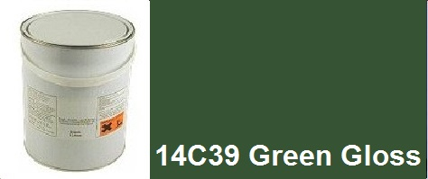14C39 Green Agricultural Gloss 5 Litre