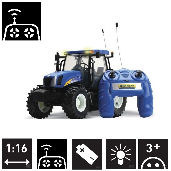 Big Farm New Holland T6070 Remote Controlled 1:16 scale