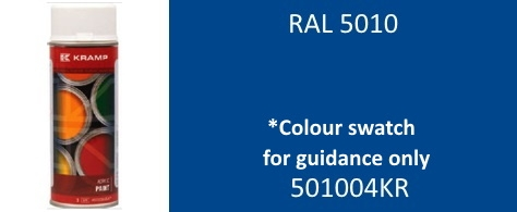 Kramp 501004KR RAL 5010 Gentian Blue paint 400ml