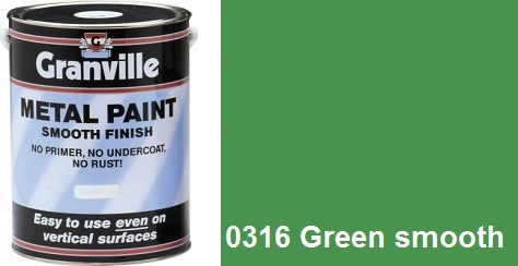 Granville 0316 Green Paint Smooth - 500ml