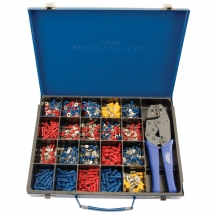 Expert Ratchet Crimping Tool & Terminal Kit