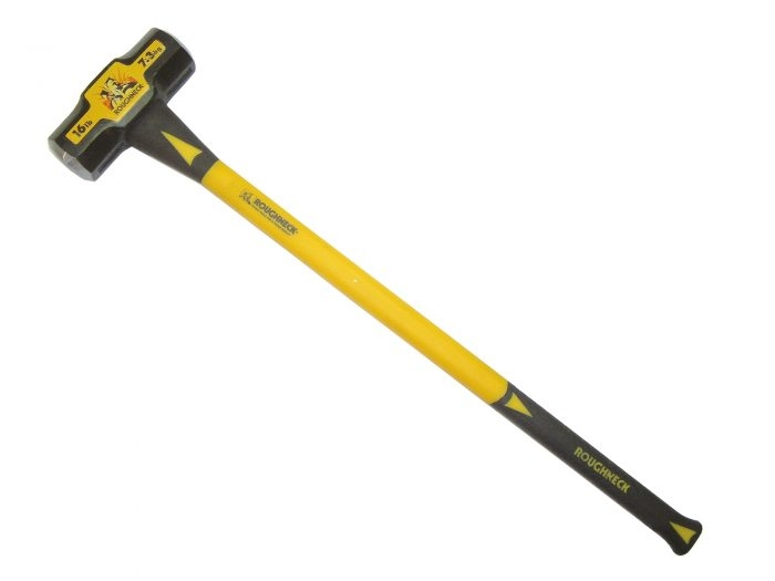 Sledge Hammer 2.7kg (6lb) Fibreglass Handle