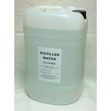 Distilled Water 25 Litre