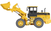 Hanomag 221 Wheel Loader 1980s - 1990s