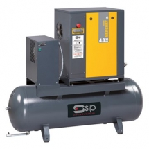 Screw Compressors with Dryer