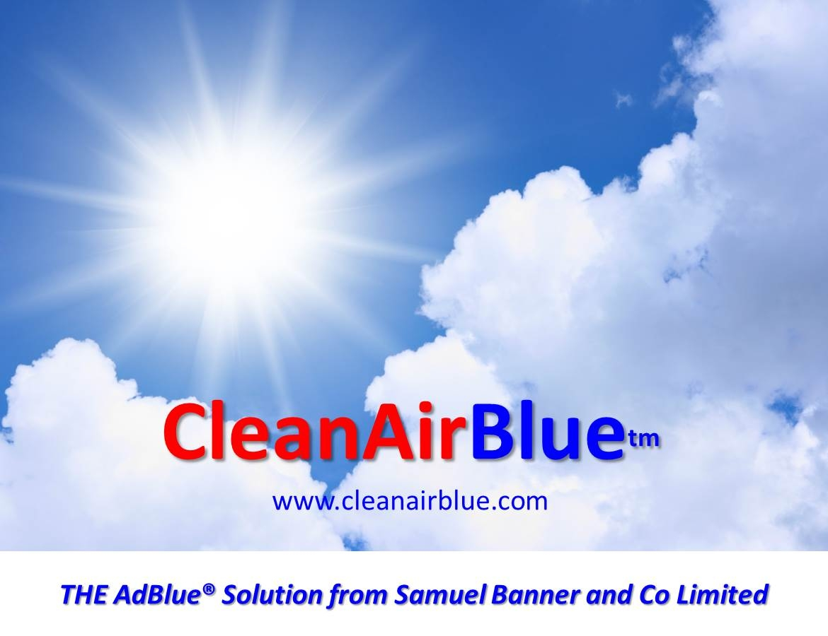 Clean Air AdBlue fluid