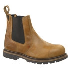Buckflex Dealer Safety Boot Autumn Brown