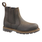 Buckflex Dealer Safety Boot Chocolate Brown