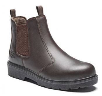 Dickies Blackrock Safety Dealer Boot Brown