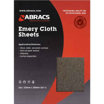 ABES100 EMERY SHEET 100 Grit
