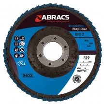 ABFZ115B040 Abracs Flap Disc 115mm x 40 Grit