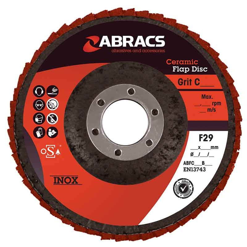 Abracs Flap Disc 115mm x 60g