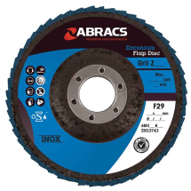 ABFZ115B120 ABRACS Flap Disc 115mm x 120 Grit
