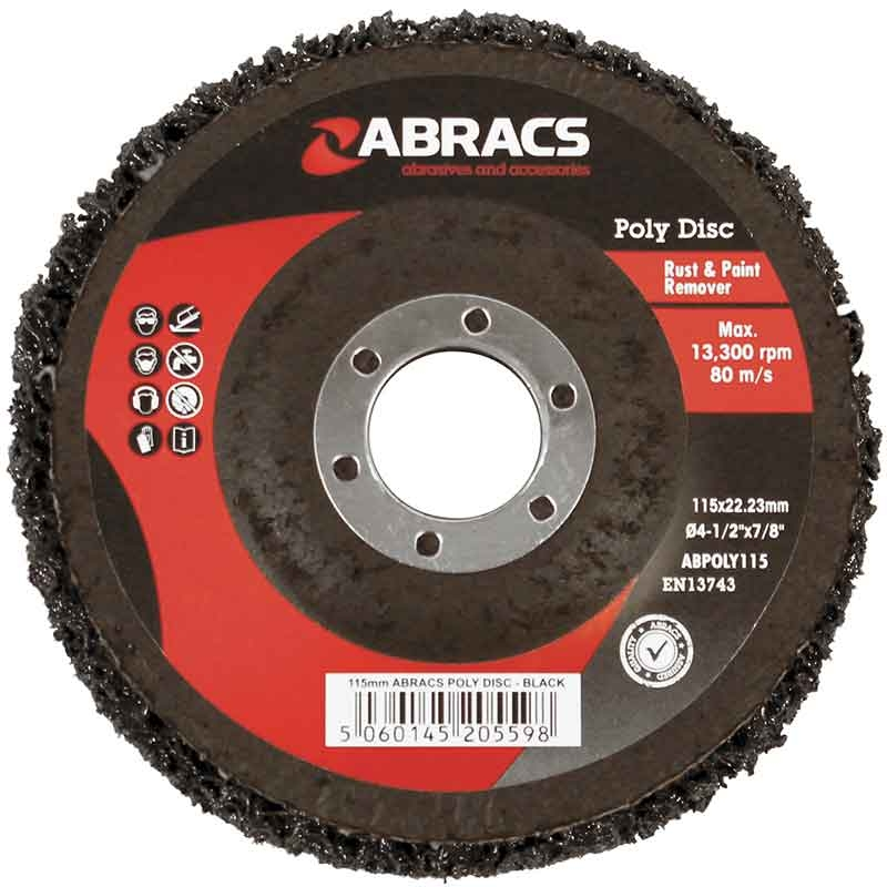 Abracs Poly Disc 115mm