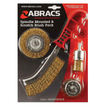 ABWBSMPACK Wire Wheel & Cup Brush Set