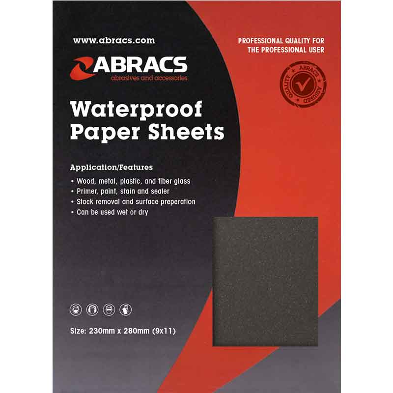 ABWD2000 WET & DRY PAPER 2000 grit