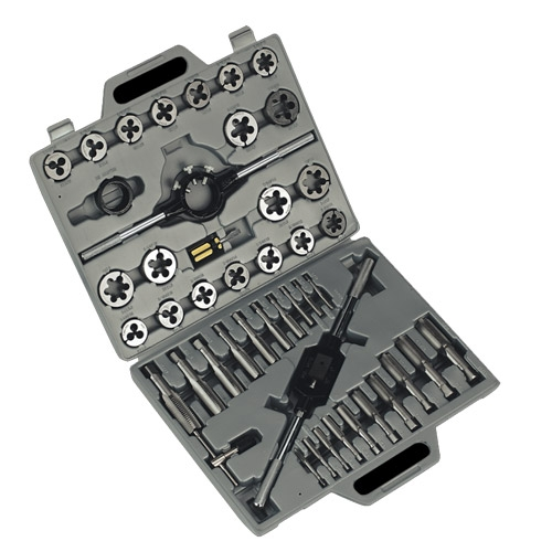 Tap & Die Set 45pc Metric
