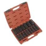 "AK5816M Impact Socket Set 16pc 1/2""Sq Drive Deep Metric"