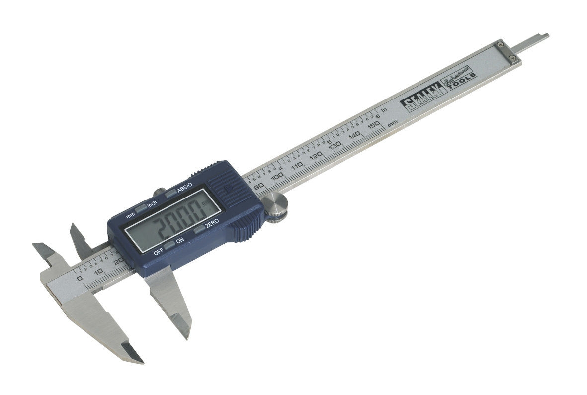 Sealey AK962EV Digital Vernier Calliper 0-150mm/0-6""