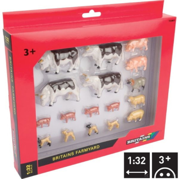 B43096A1 Various animals set, 17 pieces