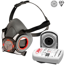 Force 8 Half Mask Respirator With P3 Filters