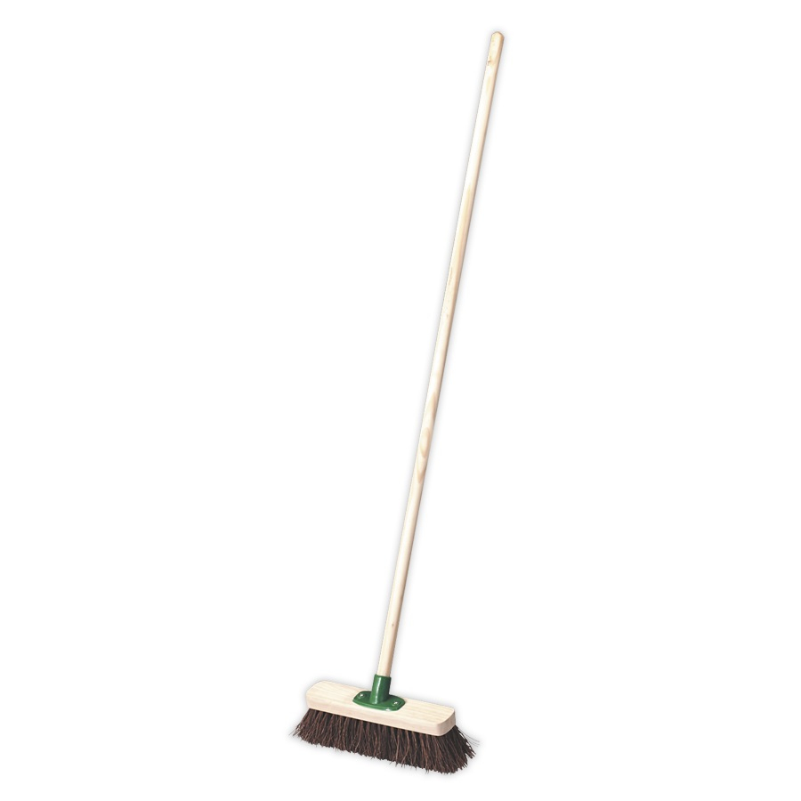 BM12H Broom 12inch head Stiff/Hard Bristle