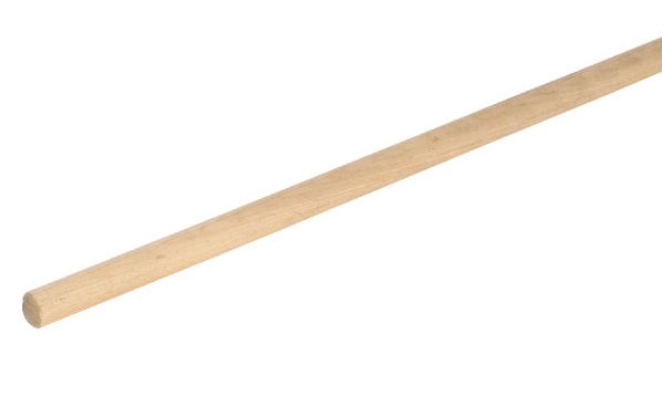 BRM1125 Broom handle 60inch x 1 1/8inch