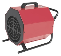 EH3000B Industrial Fan Heater 3kW 2 Heat Settings