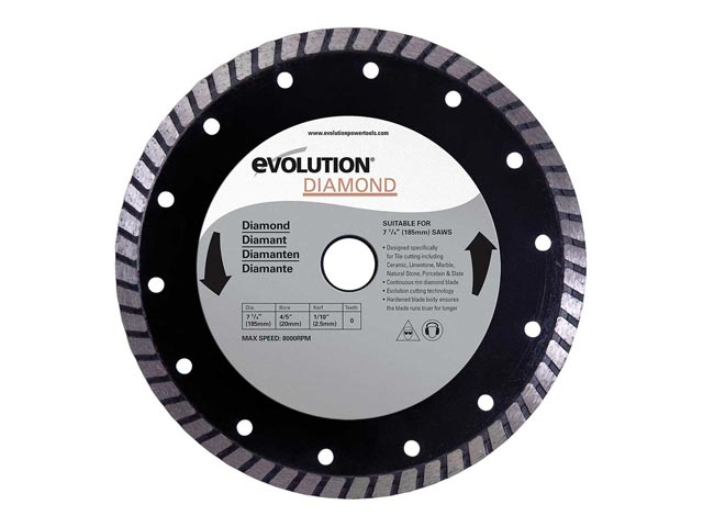 EVO Blade 185mm Diamond Blade