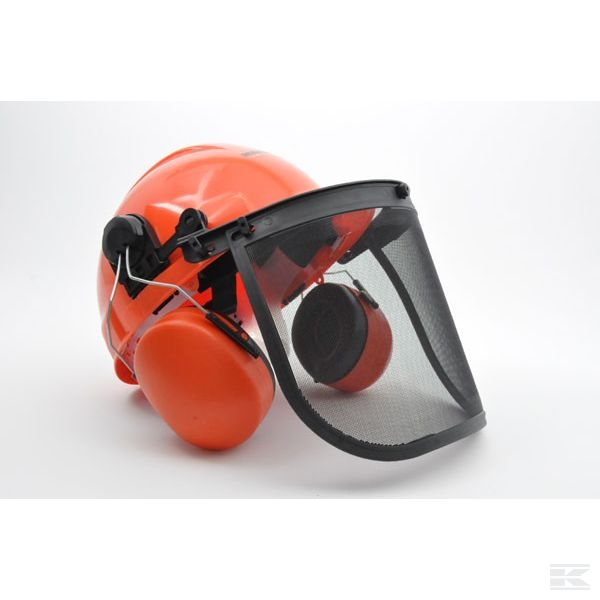 FGP453576 Chainsaw Safety Helmet Visor & Ear defenders combination