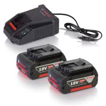 GBA18V Starter Set - 2 x 4.0ah Batteries + AL1860 Charger