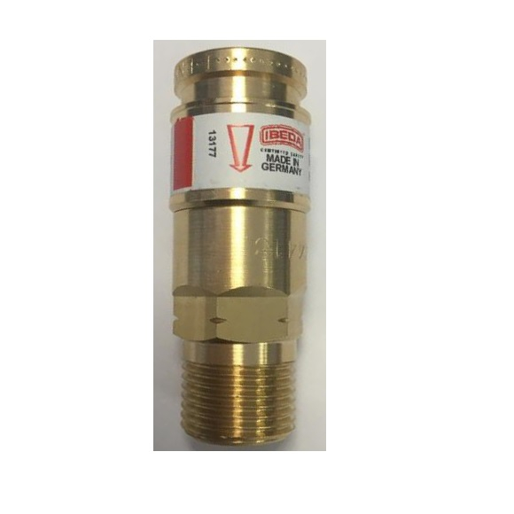 Hobbyweld Ultra Acetylene Gas Quick Action Coupling