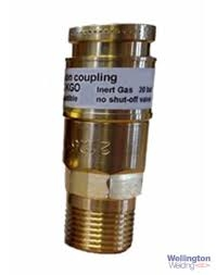 Hobbyweld Argon Ultra Inert Gas Quick Coupling
