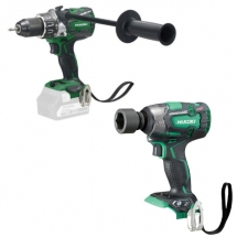 KC18DPL2JBZ Hikoki Drill & Impact Wrench Combi pack 18 Volt - 36 Volt Body only