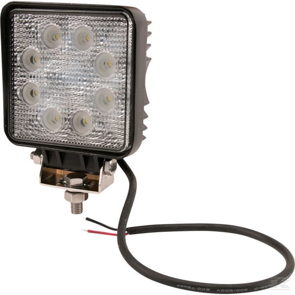 LA15025 Worklamp Square LED 12/24v 1920 Lumen